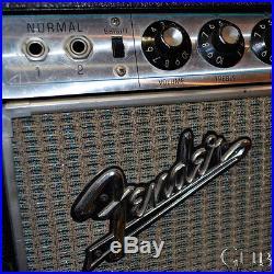Used Fender Vintage 68' Pro Reverb all Tube Guitar Amp 68'PROREVERB