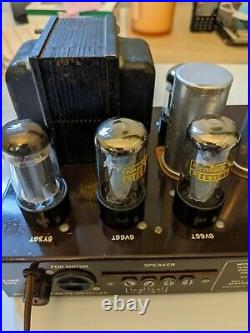 VINTAGE 1950s BELL MONO TUBE AUDIO AMPLIFIER AMP MODEL 2122 WORKING AND TESTED