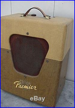 VINTAGE 1950s MULTIVOX PREMIER MODEL 50 TUBE GUITAR HARP AMP