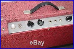 VINTAGE 1960s MELODY MIJ TUBE AMPLIFIER AMP REVERB JAPAN TEISCO 2X8