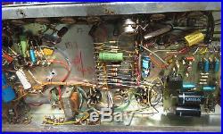 VINTAGE 1969 SUNN SOLARUS 40 WATT TUBE GUITAR AMP WithTREMELO & REVERB