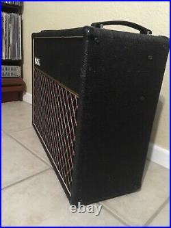 VINTAGE 1990 Vox AC30-6TB grey-panel 2x12 tube combo amp amplifier EXCELLENT