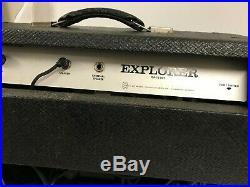 VINTAGE 60's GIBSON GA-15 RVT EXPLORER Guitar Amp TUBE AMPLIFIER Reverb/Tremelo