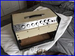 VINTAGE AMPLIFIER Magnatone Estey Canyon Tube Guitar Amp For Parts Repair