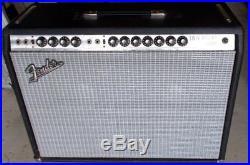 VINTAGE Fender Twin Reverb 85-watt 2x12 Tube Combo Amp Amplifier