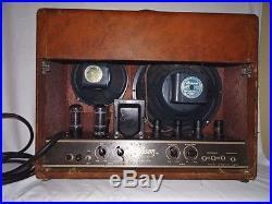 VINTAGE GIBSON GA-50 TUBE AMPLIFIER / GUITAR Amp Powers up Jensen Speakers Works