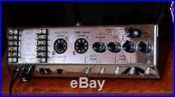 VINTAGE McINTOSH MC240 TWO-CHANNEL TUBE AMPLIFIER, with CAGE