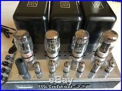 VINTAGE McINTOSH MC275 POWER TUBE AMPLIFIER WITH ORIGINAL MANUAL