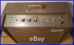 VTG 1963 Gibson Falcon GA-19RVT Tube Amplifier Amp NOT WORKING & NO FOOTSWITCH