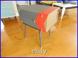VTG COLUMBIA RECORD PLAYER 4 SPD. AUTOMATIC TUBE AMP RESTORED Watch Play
