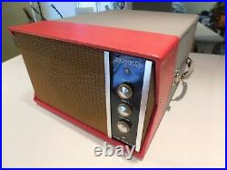 VTG Columbia V-M 4 speed automatic RECORD PLAYER TUBE AMP RESTORED Watch Play