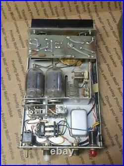 VTG Kris 300M 300 M Chrome Face Linear Power TUBE Amplifier UNTESTED HAM FLAVOR