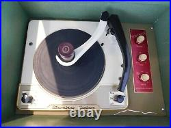 VTG STROMBERG CARLSON RECORD PLAYER PHONO Hi-Fi RESTORED TUBE AMP Watch it play