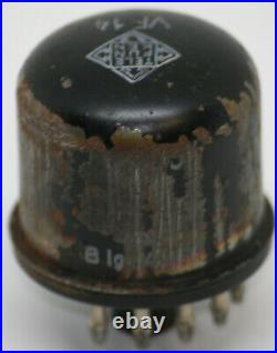 Vf14 tube telefunken M neumann u47 valve vintage vacuum amplifier tested strong