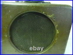 Vintage 1940's Brown Gibson EH125 Tube Lap Steel Guitar Amplifier Free Ship