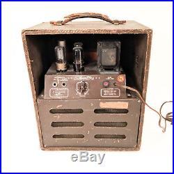 Vintage 1947 Silvertone 1301 Tube Amp