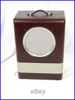 Vintage 1950 Danelectro Made Silvertone 1344 MONSTER TONE! Guitar Tube Amp, MINT+