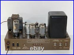Vintage 1950's Eico HF-20 Mono 6L6 Tube Amplifier Audio HiFi Speaker Amp Sound