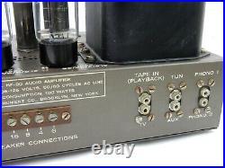 Vintage 1950s Eico HF-20 Mono 6L6 Tube Amplifier Functional