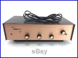Vintage 1950s Harmon Kardon Allegro Tube Amp, ROSE GOLD FRONT FACE