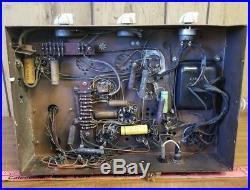 Vintage 1950s Stromberg-Carlson AU34 Tube Amplifier