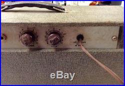 Vintage 1960's Alamo Guitar Tube Amplifier Amp