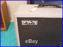 Vintage 1960's Alamo tube amp Utah spkr gray snakeskin V Rare V Cool amplifier