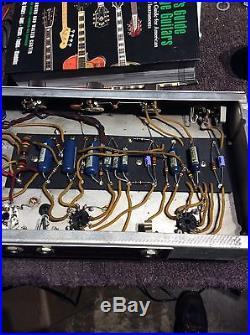 Vintage 1960's Fender Princeton 6G2 Guitar Tube Amplifier Circa 1961-1962 Brown