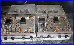 Vintage 1960's Heathkit Model AA-13 Mono 14 Watt Hi-Fi Tube Amplifier Pair (2)