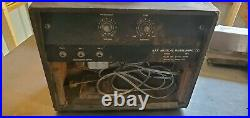 Vintage 1960's Kay Guitar Tube Amplifier 703 C for parts or repair project WORKS