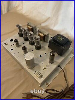 Vintage 1960's Magnavox Stereo Tube Amplifier FREE SHIPPING