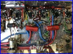 Vintage 1960's Model 1485 Sears Silvertone Guitar Tube Amplifier