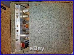 Vintage 1960's Silvertone 1482 Tube Amplifier Amp with Jensen C12N Speaker