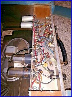 Vintage 1960's Supro 1616TA Trojan tremolo amplifier amp tube
