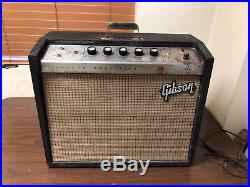 Vintage 1960s Gibson Falcon Guitar Amplifier Tube Amp