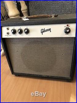 Vintage 1960s Gibson Skylark GA-5 Guitar TUBE Amp Amplifier great condition