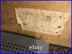 Vintage 1960s KNOX 602 Tube Guitar Amplifier Amp works