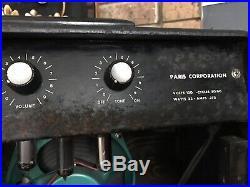 Vintage 1960s Paris Corporation PC-1 Tube Guitar Amp Estate Find