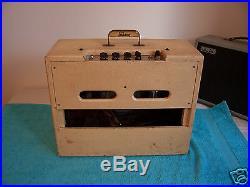 Vintage 1961 GIBSON GA 8 T amplifier tube amp Blonde Tolex Jensen Alnico speaker