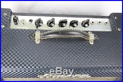 Vintage 1963 Ampeg Reverberocket Tube Amplifier Amp Tremolo Reverb R-12r-b