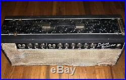 Vintage 1964 Fender Deluxe Reverb Tube Amplifier