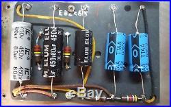 Vintage 1965 Fender Bandmaster Blackface AB763 Guitar Tube Amplifier