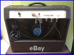 Vintage 1966 Epiphone Comet Ea 32 Rvt Ga 15 Rvt Tube Amp