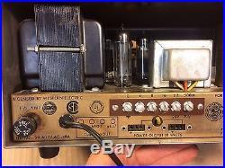 Vintage 1970 Precision Electronics Tube Amplifier Guitar Amp dual EL84 6CA4 6EU7