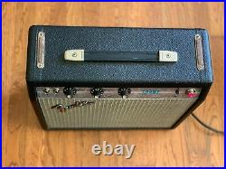 Vintage 1970's Fender Silverface Champ All tube amp. Great sounding