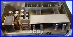 Vintage 1971 Selmer Chieftain 200 Watt Amplifier All Orig. All Tube Major