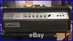 Vintage 1975 Ampeg V4 electric guitar tube amplifier V-4 head ready to play