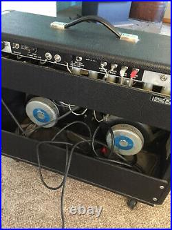Vintage 1976 Fender Pro Reverb Amp Amplifier 6L6 Tube Silverface Guitar