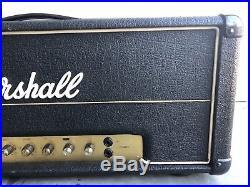 Vintage 1977 Marshall JMP Master Model 50w Mk2 Lead pre-owned tube guitar amp