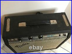 Vintage 1978 Fender Silverface Champ All Tube Gutiar Amp Amplifier VGC